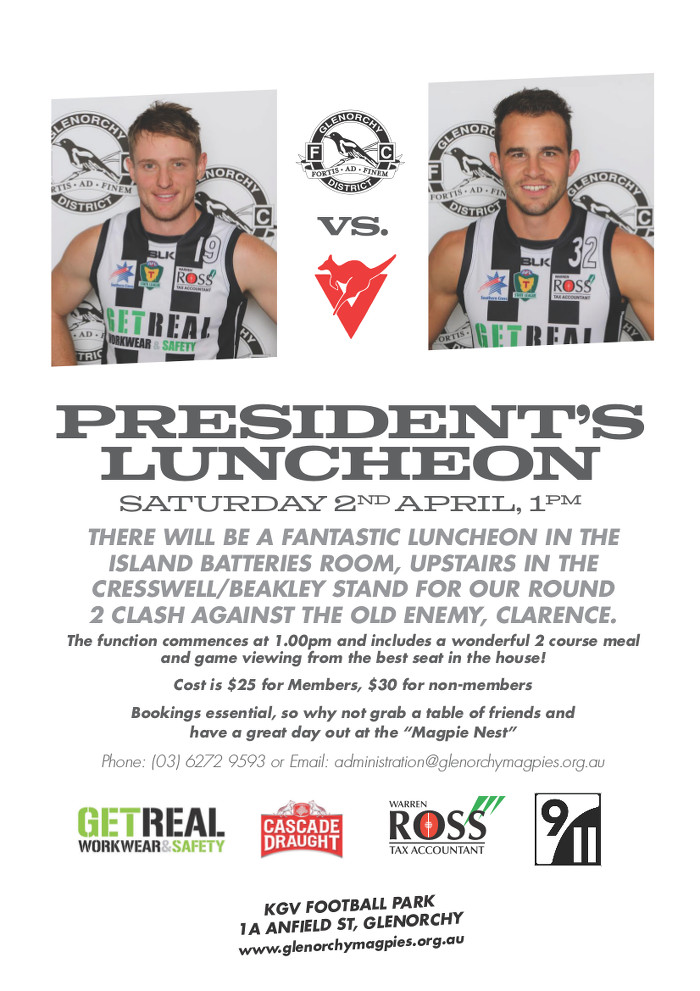 GDFC Presidents Luncheon April 2016